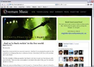 Overture Music