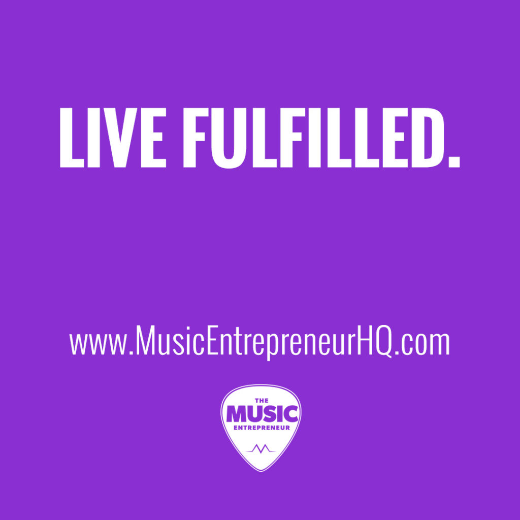 Live fulfilled.