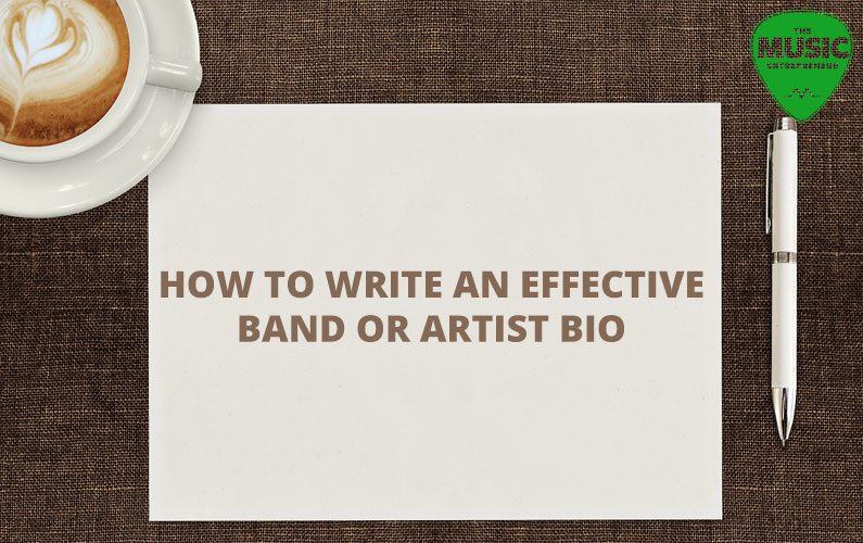 how to write a good band biography