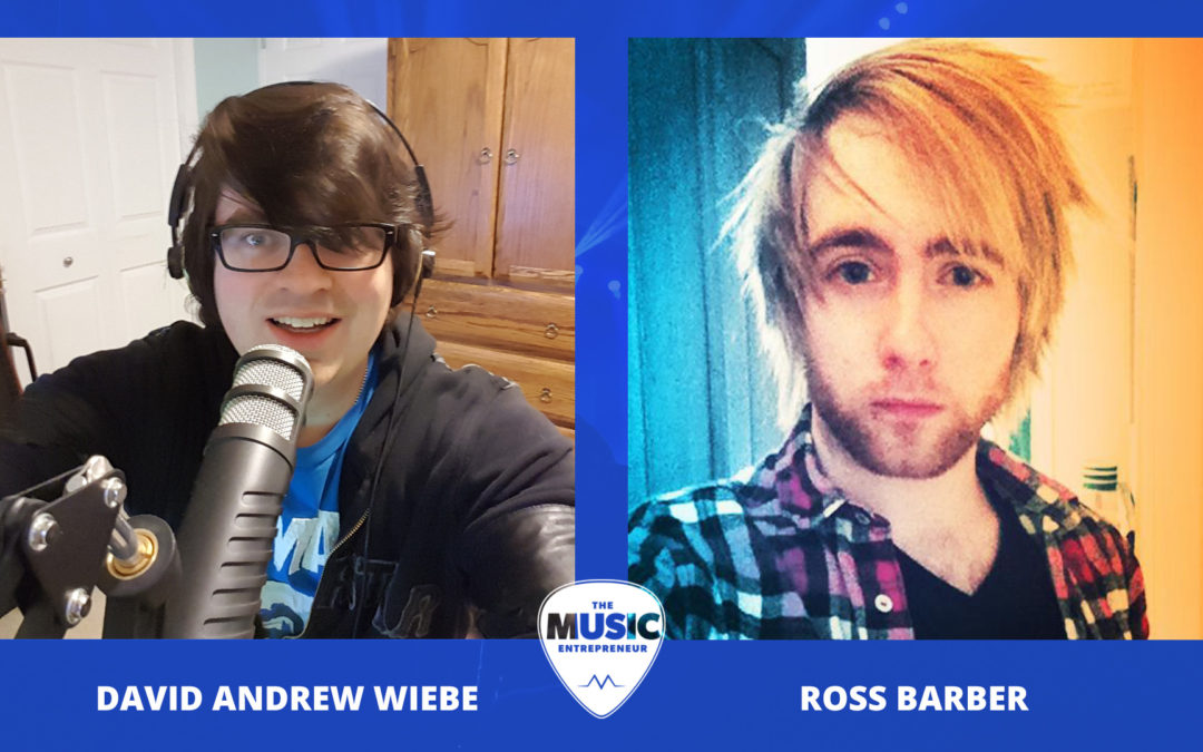 003 – The Value of Having Your Own Website as a Musician – with Ross Barber of Electric Kiwi