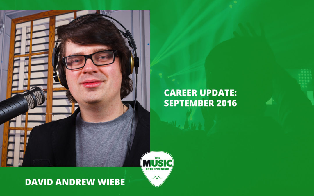 013 – Career Update: September 2016