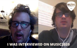 I was Interviewed on Music2020