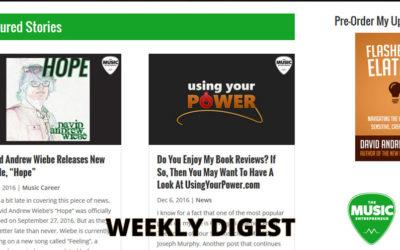 Weekly Digest: December 10, 2016