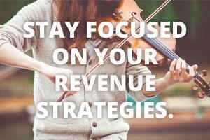 Various revenue strategies for musicians