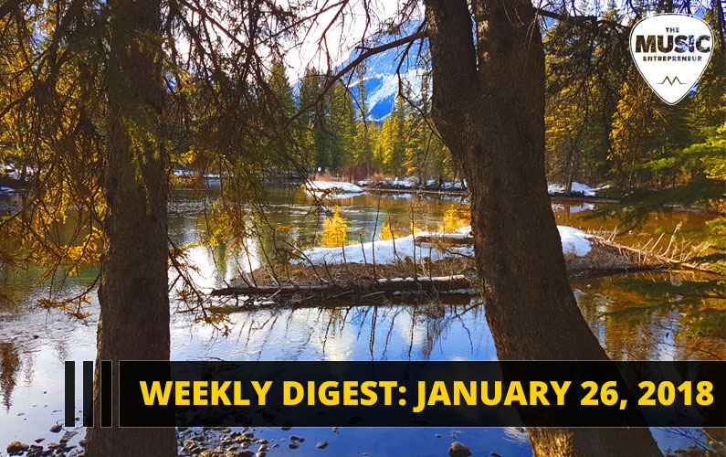 Weekly Digest: January 26, 2018