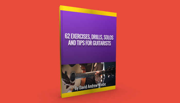 62 Exercises, Drills, Solos and Tips for Guitarists