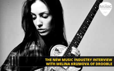 082 – How Important is Social Media Marketing for Musicians? – with Melina Krumova of Drooble