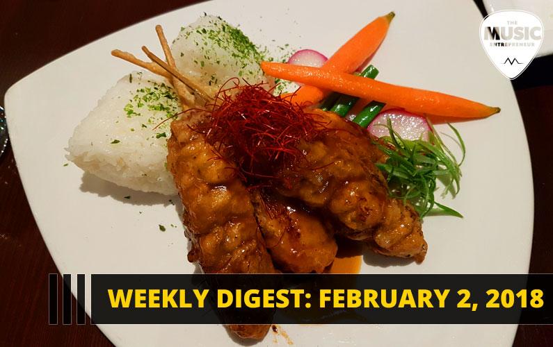 Weekly Digest: February 2, 2018