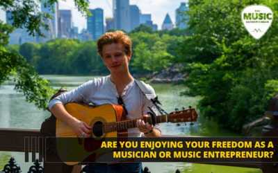 Are You Enjoying Your Freedom as a Musician or Music Entrepreneur?