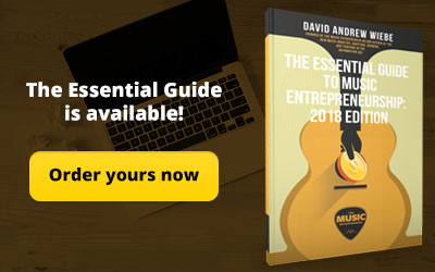 Order The Essential Guide to Music Entrepreneurship