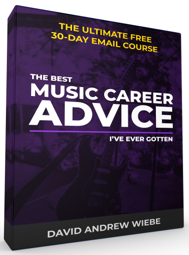 The Ultimate Free 30-Day Email Course: The Best Music Career Advice I've Ever Gotten