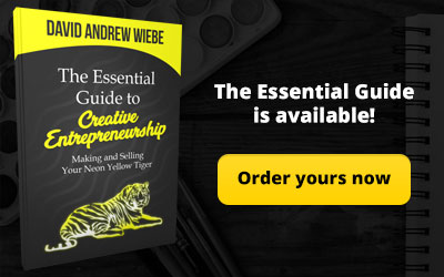 Order The Essential Guide to Creative Entrepreneurship book