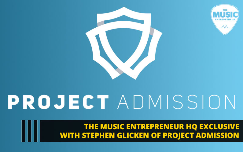 Stephen Glicken of Project Admission Shares How He is Bringing Cohesion Back to Ticketing & Events