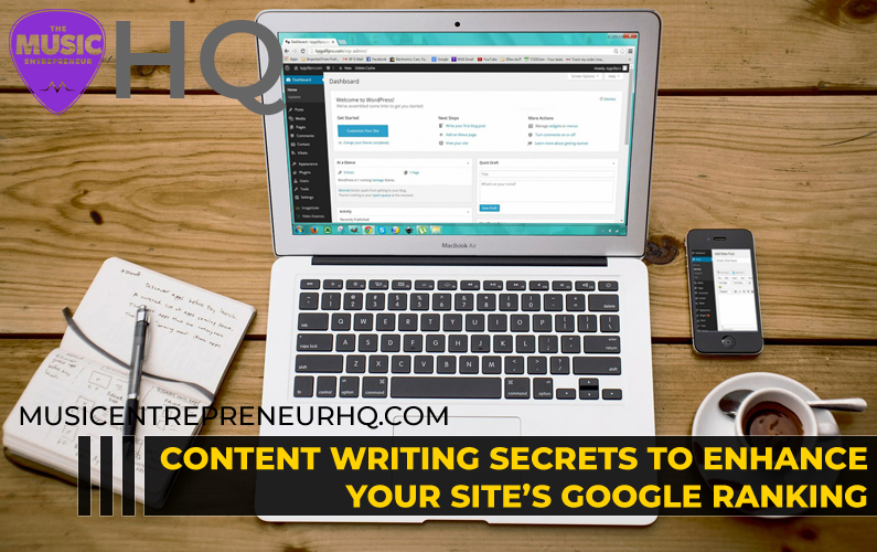 Сontent Writing Secrets to Enhance Your Site's Google Ranking