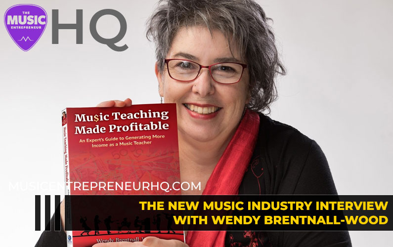 159 – How to Build a Profitable & Sustainable Music Education Business – with Wendy Brentnall-Wood