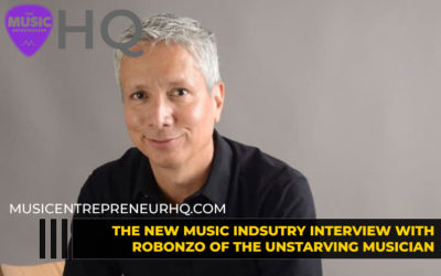 164 – How to be a Happy & Profitable Live Performer – with Robonzo of The Unstarving Musician