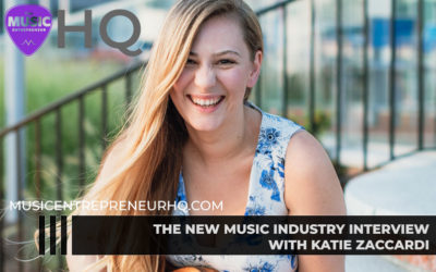 168 – Taking Care of Your Mental & Physical Health as a Musician – with Katie Zaccardi of The Out to Be Podcast